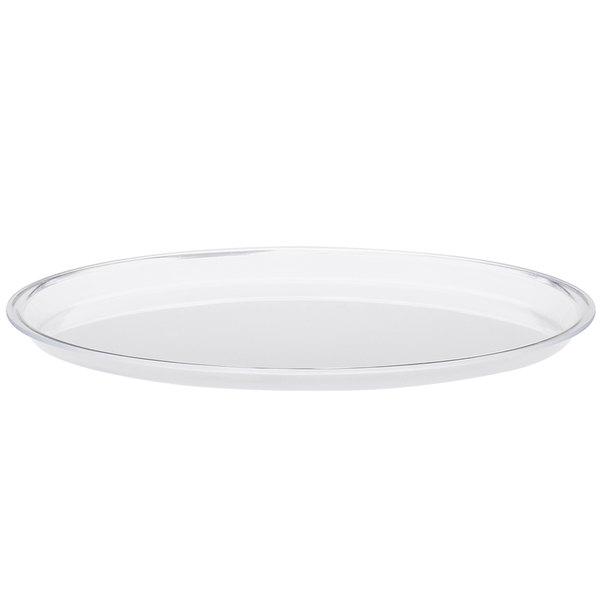 "Cal-Mil P306 12"" Acrylic Cake Tray"