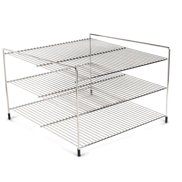 """Nemco 66793 Three Tier 19"""" Shelf System for 6455 Pizza and Hot Food Merchandisers"""