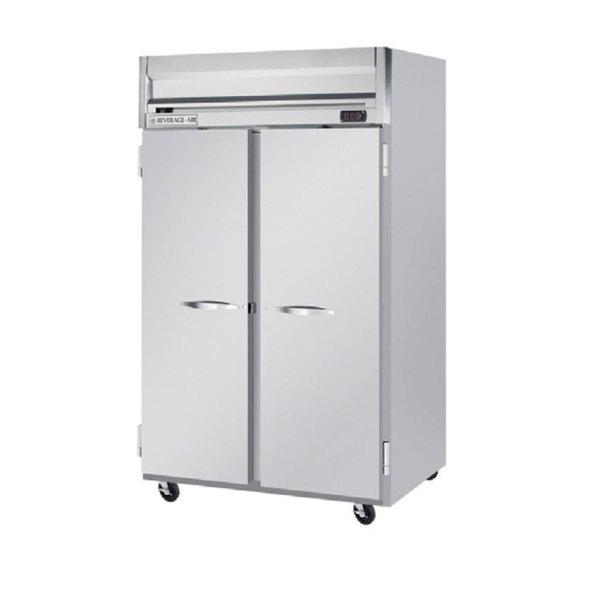 "Beverage-Air HFP2HC-1S Horizon Series 52"" Reach-In Freezer Main Image 1"