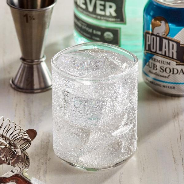 Polar 8 oz. Club Soda Cans - 6/Pack