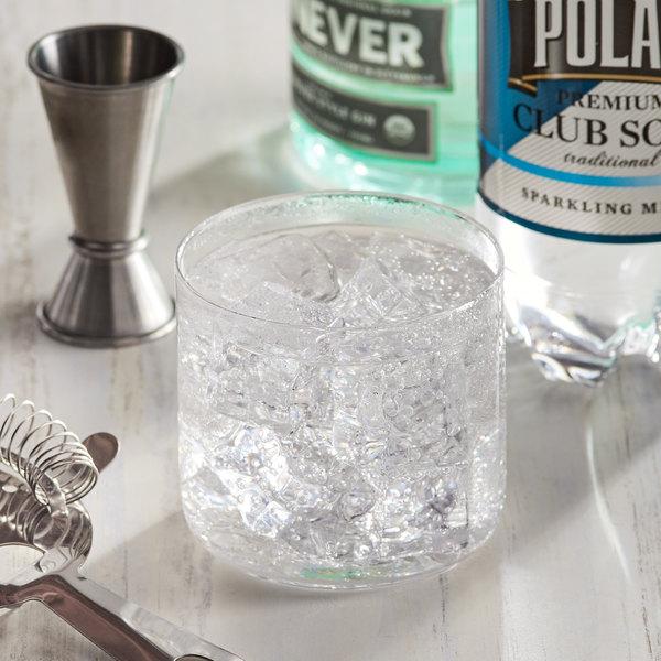 Polar 1 Liter Club Soda - 12/Case