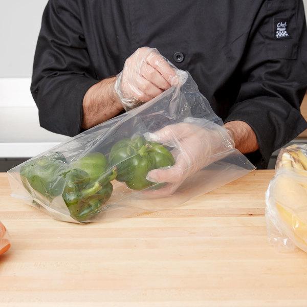 "LK Packaging 15G-064015 Plastic Food Bag 6"" x 4"" x 15"" - 1000/Box Main Image 3"