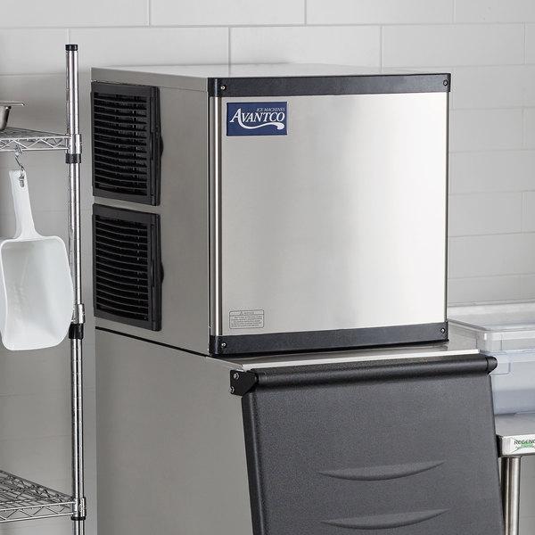 "Avantco Ice MC-350-22-HA 22"" Air Cooled Modular Half Cube Ice Machine - 350 lb. Main Image 6"