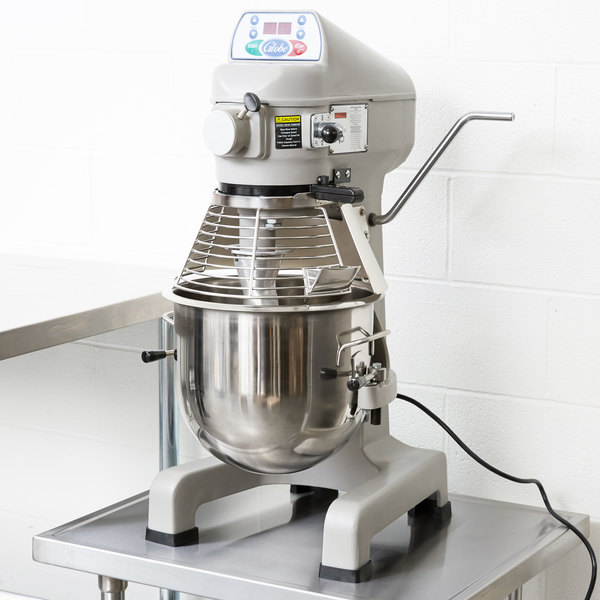 Globe SP20 Gear Driven 20 Qt  Commercial Planetary Stand Mixer - 115V, 1/2  hp