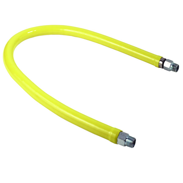 """T&S HG-2C-72K Safe-T-Link 72"""" FreeSpin Gas Appliance Connector with Installation Kit - 1/2"""" NPT"""