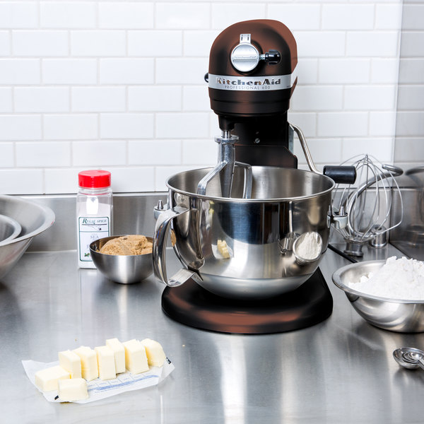 KitchenAid KP26M1XES Espresso Professional 600 Series 6 Qt. Countertop Mixer