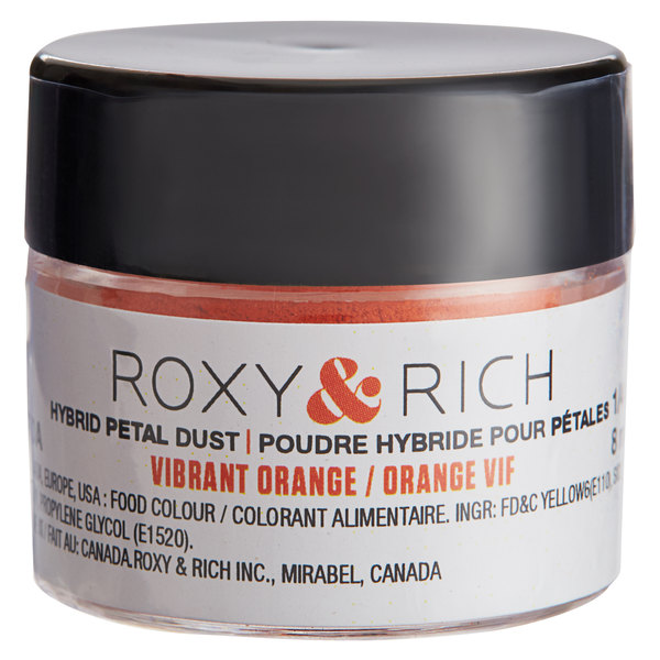 Roxy & Rich 1/4 oz. Vibrant Orange Petal Dust