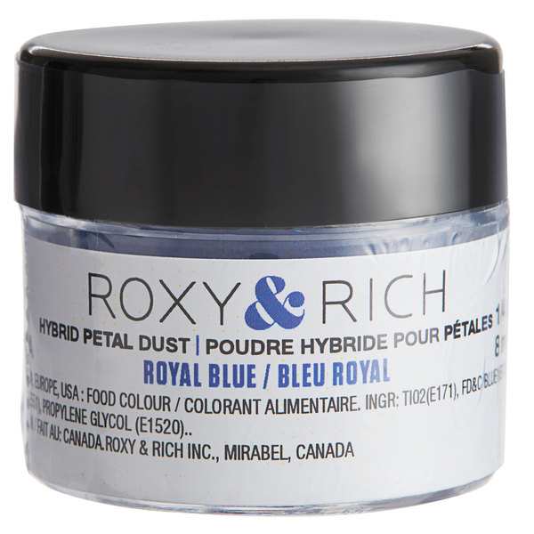 Roxy & Rich 1/4 oz. Royal Blue Petal Dust