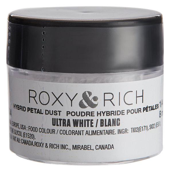 Roxy & Rich 1/4 oz. Ultra White Petal Dust