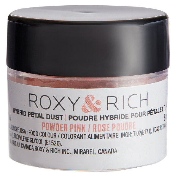 Roxy & Rich 1/4 oz. Powder Pink Petal Dust