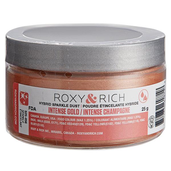 Roxy & Rich 25 Gram Intense Rose Gold Sparkle Dust