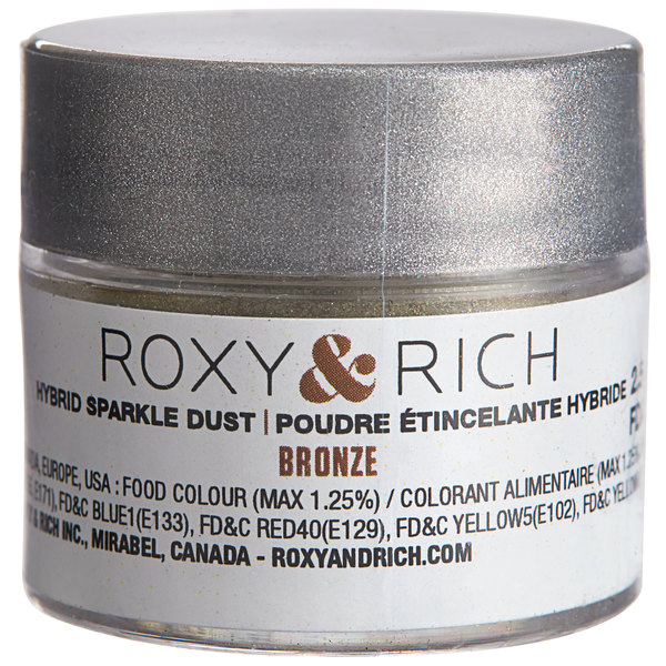 Roxy & Rich 2.5 Gram Bronze Sparkle Dust