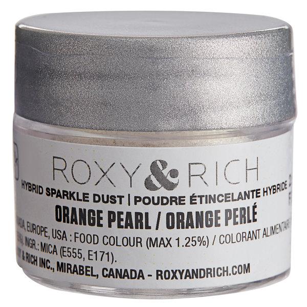 Roxy & Rich 2.5 Gram Orange Pearl Sparkle Dust