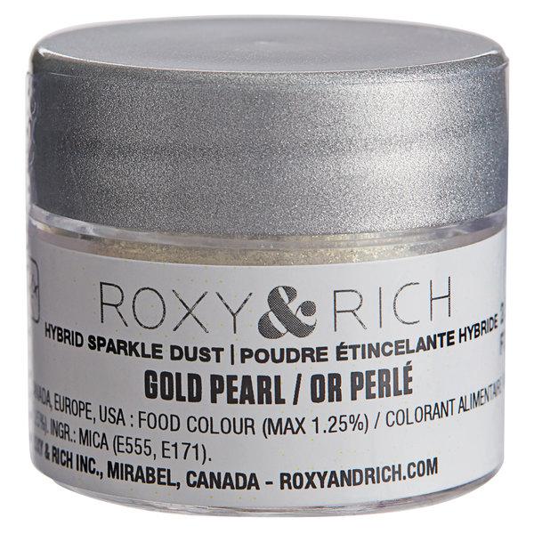 Roxy & Rich 2.5 Gram Gold Pearl Sparkle Dust