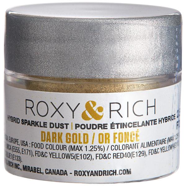 Roxy & Rich 2.5 Gram Dark Gold Sparkle Dust