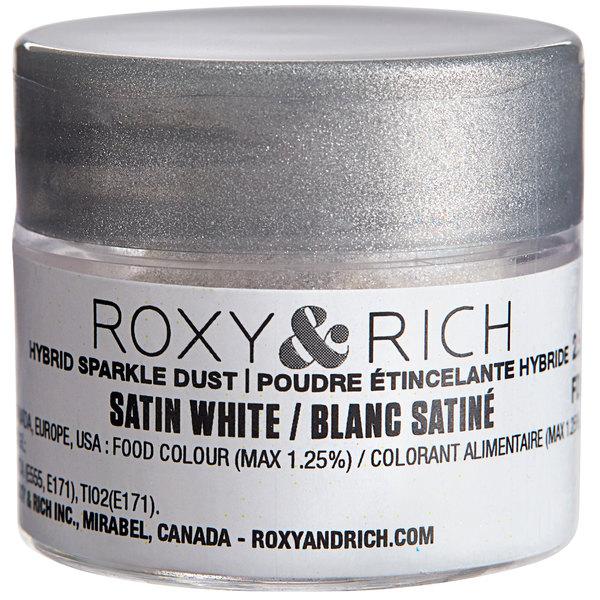 Roxy & Rich 2.5 Gram Satin White Sparkle Dust