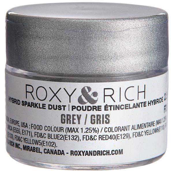 Grey Hybrid Luster Dust 2.5 Grams by Roxy /& Rich