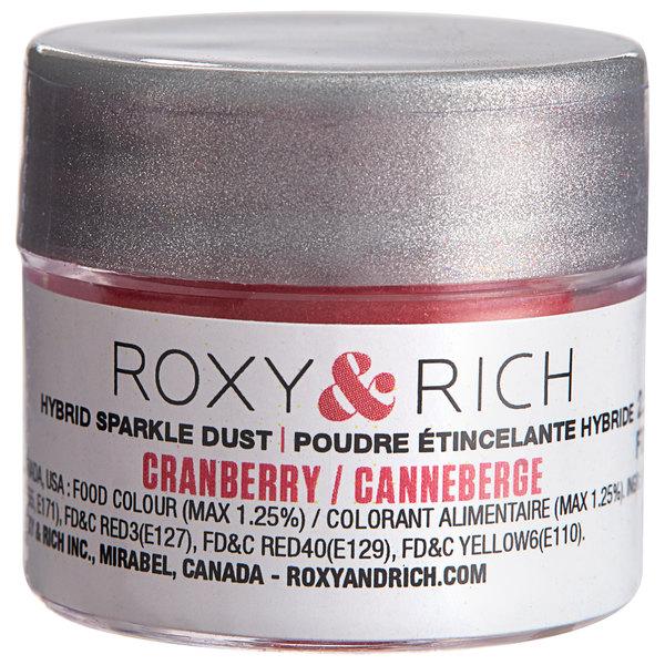Roxy & Rich 2.5 Gram Cranberry Sparkle Dust