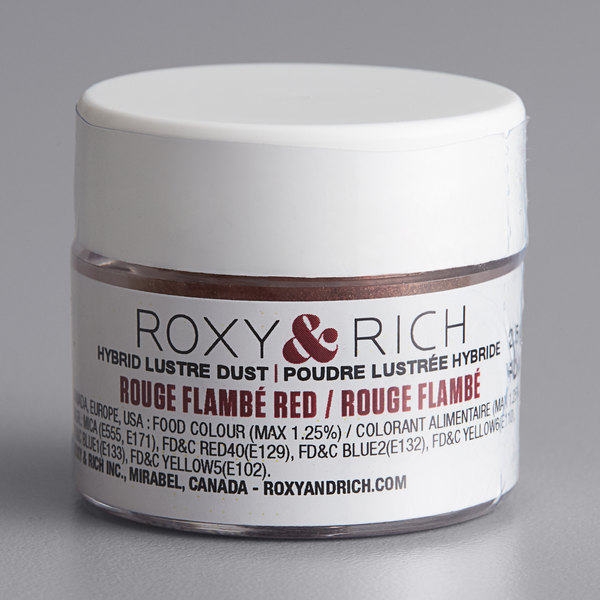 Roxy & Rich 2.5 Gram Rouge Flambe Red Lustre Dust