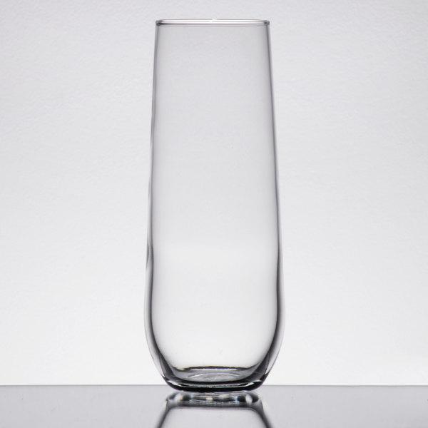 Libbey 228 8.5 oz. Stemless Flute Glass - 12/Case