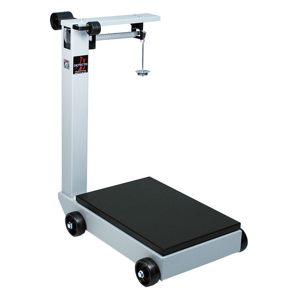 Cardinal Detecto 854F100P 1000 lb. Portable Mechanical Floor Scale, Legal for Trade