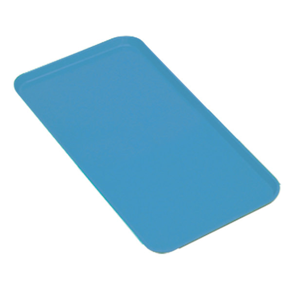 """Cambro 918MT142 Blue Fiberglass Market Tray 9"""" x 18"""" - 12/Case"""