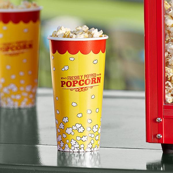 Carnival King 24 oz. Popcorn Cup - 50/Pack Main Image 2