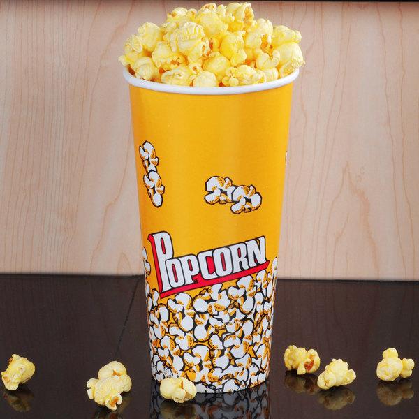 Carnival King 24 oz. Popcorn Cup - 50/Pack