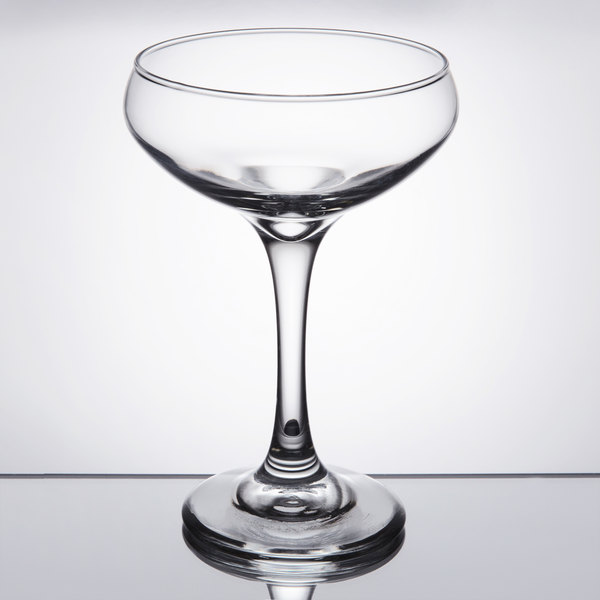 Preferred Libbey 3055 Perception 8.5 oz. Cocktail Coupe Glass - 12/Case GD61