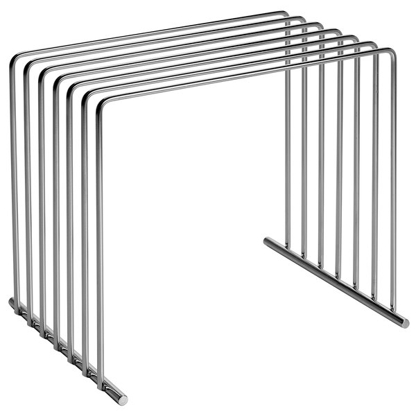 Tomlinson 6-Board Stainless Steel Cutting Board Storage Rack Main Image 1