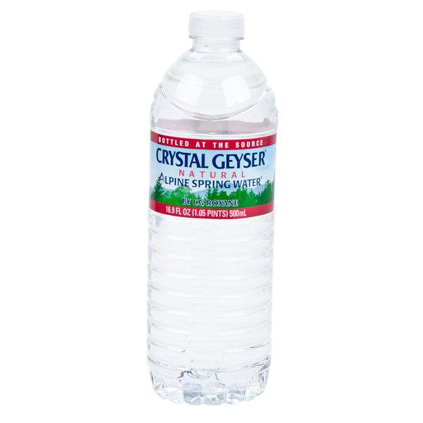 Crystal Geyser 16.9 oz. Natural Spring Water - 24/Case
