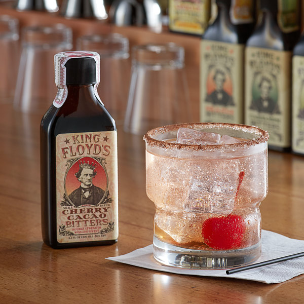 King Floyd's 3.4 fl. oz. Cherry Cacao Bitters Main Image 3