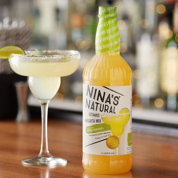 Nina's Natural 1 Liter Ultimate Margarita Mix Main Image 2