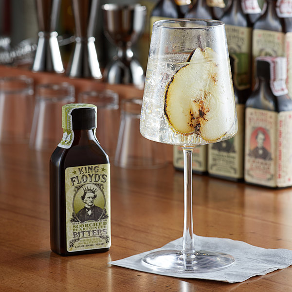 King Floyd's 3.4 oz. Scorched Pear & Ginger Bitters