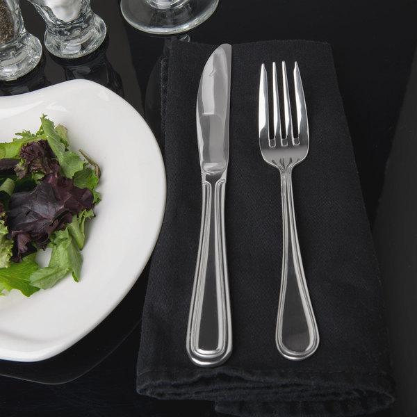 Regency Flatware Stainless Steel Salad Fork - 12/Case