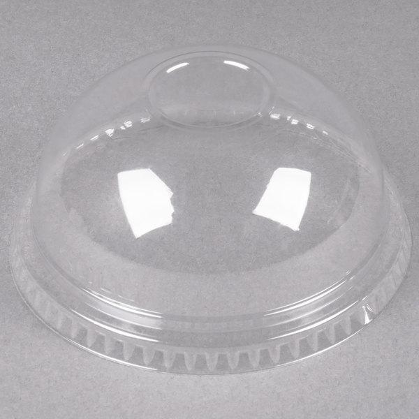 Dart DNR662 Conex Clear PET Plastic Dome Lid - 1000/Case Main Image 1