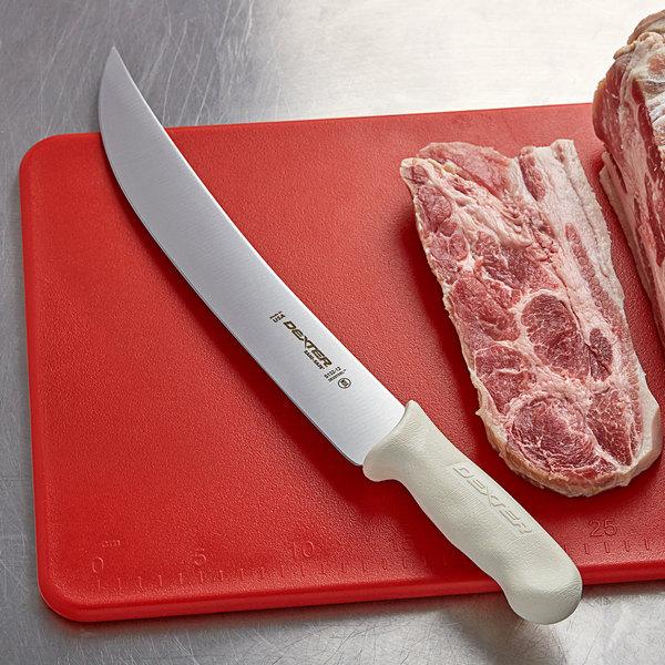 """Dexter-Russell 05543 Sani-Safe 12"""" Cimeter Steak Knife Main Image 2"""