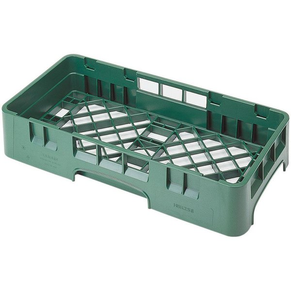 Cambro HBR258119 Sherwood Green Camrack Half Size Open Base Rack Main Image 1