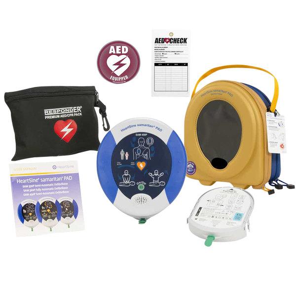 HeartSine 450-BAC-US-08 Samaritan PAD 450P Semi-Automatic AED with CPR Rate Advisor Main Image 1