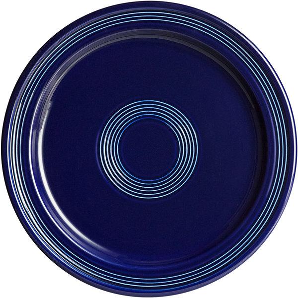 "Acopa Capri 10"" Deep Sea Cobalt China Plate - 12/Case Main Image 1"