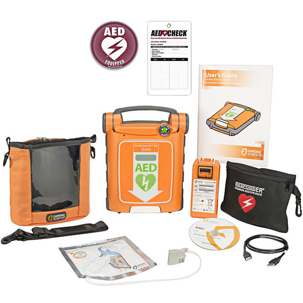 Cardiac Science G5S-80C-S Powerheart G5 Semi-Automatic AED Main Image 1
