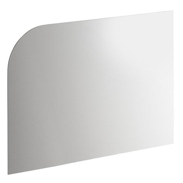 "14"" x 10"" Right Hand Stainless Steel Hand Sink Splash Kit Main Image 1"