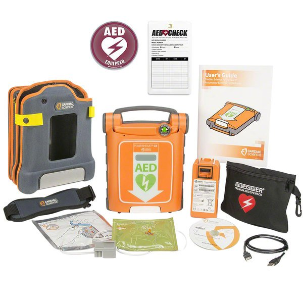 Cardiac Science G5A-80C-S Powerheart G5 Fully Automatic AED Main Image 1