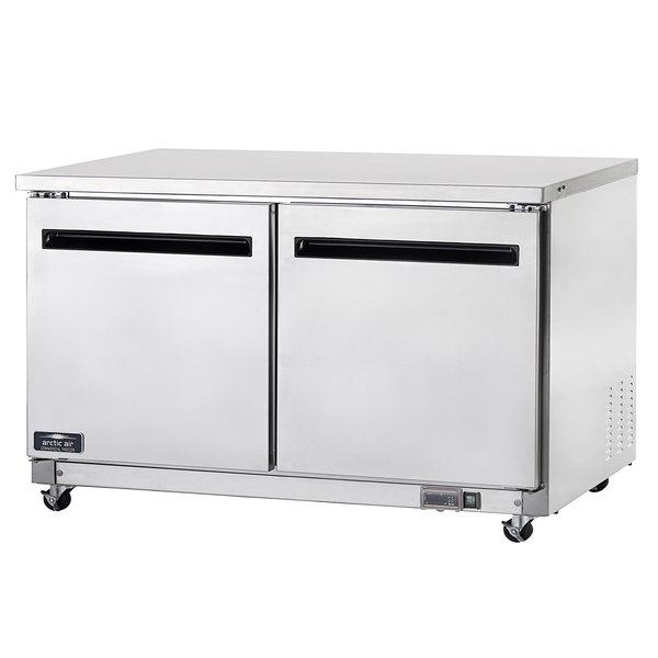 """Arctic Air AUC60R 60"""" Undercounter Worktop Refrigerator - 15.5 Cu. Ft. Main Image 1"""