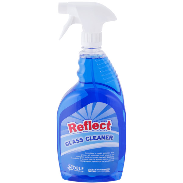 1 Qt. Noble Chemical Reflect Glass / Multi-Surface Spray Cleaner - Ecolab® 25798 Alternative