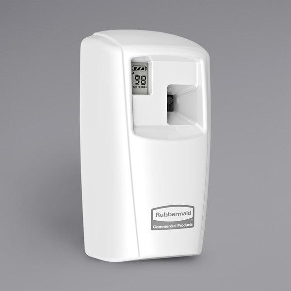 Rubbermaid Microburst 3000 LCD Dispenser White 1793532