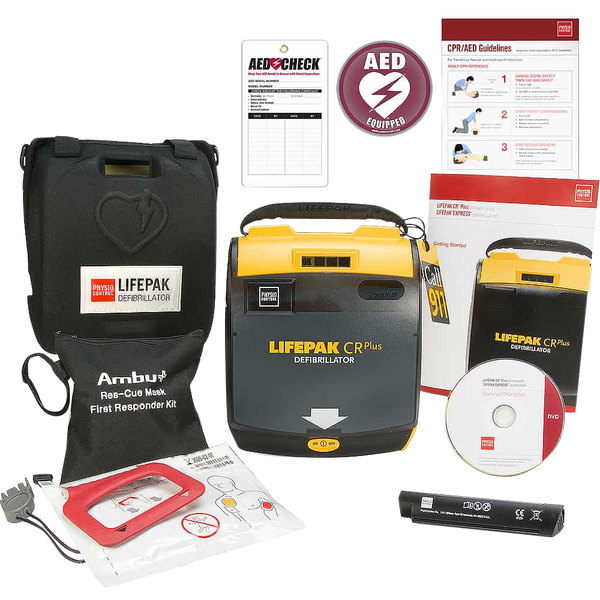 Physio-Control 80403-000149 LIFEPAK CR Plus Fully Automatic AED Main Image 1