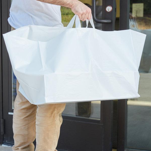 "Plastic Take Out Bag 22"" x 14"" x 15 1/4"" - 100/Box"