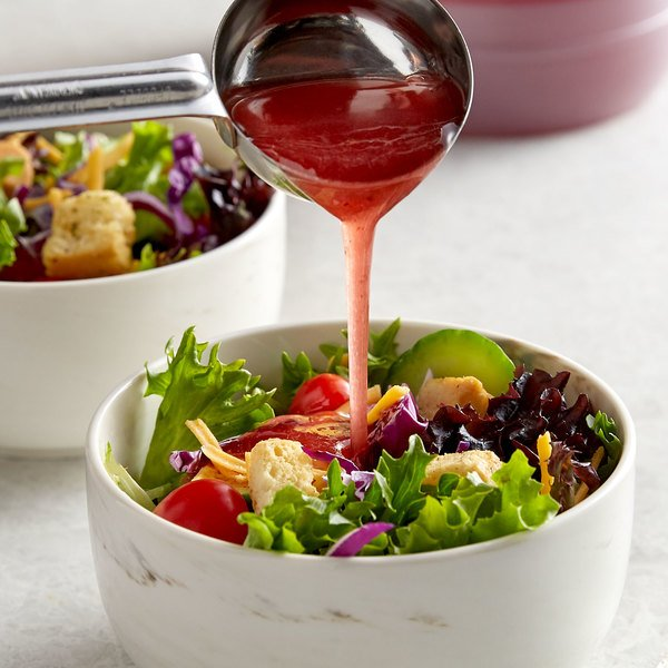 Ken's Foods 1 Gallon Red Wine Vinegar and Oil Dressing - 4/Case Main Image 2