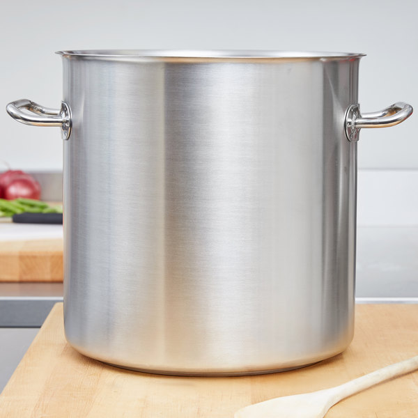 Vollrath 47722 Intrigue 18 Qt. Stainless Steel Stock Pot